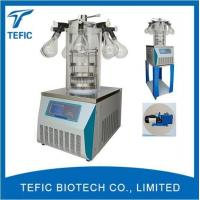 China China Vacuum Freeze Drying Equipment Manufacturer,manifold Top Press Type Lab Freeze Dryers for Sale on sale
