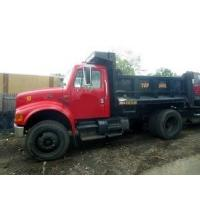 Quality 2001 International 4900 Single Axle Dump Truck used for sale wholesale