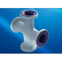 China Customized ptfe lined carbon steel pipe , Germany Wendel Glass Lined Reactor Parts on sale