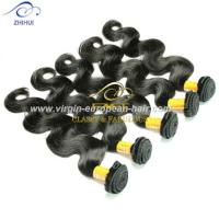 Alibaba Lovely Brazilian Hair Weaving, Yes 8A Virgin Human 33 body wave remi brazilian hair weave