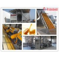 China Turnkey Project Industrial NFC Orange Juice Processing Line on sale
