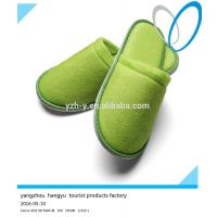 Quality Fashion Accessories 2016 best- selling color terry personalized disposable hotel slippers wholesale