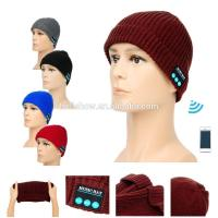 Quality Fashion Accessories Best Selling Man Women Knitted Beanie Wireless Bluetooth Music Hat Cap wholesale