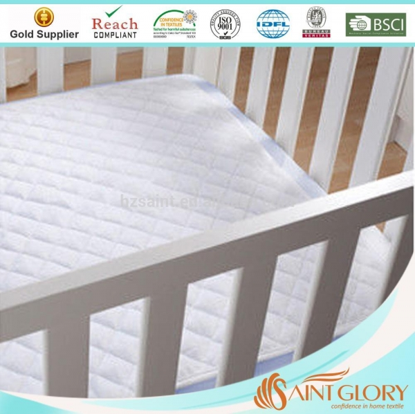 Cheap Best Protecting Waterproof Mattress Protector Pad for Baby & Crib & Toddler & Child Mattress for sale