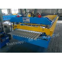 Buy cheap Corrugated Roofing Sheet Roll Forming Making Machine For Sale from wholesalers