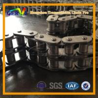 Quality BS DIN C08B C10b C12b Short Pitch Roller Chains With Straight Side Plates Copper-plated Dacrotised H wholesale