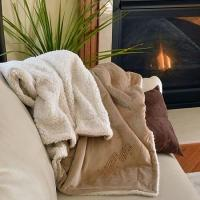 Cheap New & Noteworthy Music Staff Micro Mink Sherpa Blanket for sale