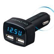 Buy cheap 4in1 Dual USB Car Charger Adapter product