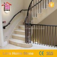 China Replacement Spindles for Stair Black Metal Round Iron Balusters Architecture on sale