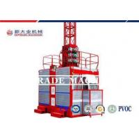 SC100 1000kg Single / Two Cage Construction Material Hoist For Reliable And Safe