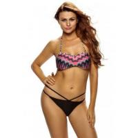 Buy cheap African Rays Bandeau Bikini Cutout Bottom Swimsuit LC41857-2 from wholesalers
