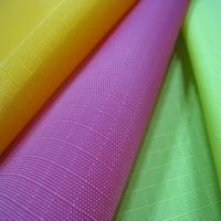 China Nylon Rip Stop Fabric with Water-repellent and 1PU coating, Suitable for Backpack and Bags on sale