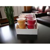 China Solid standard cupcake liner on sale