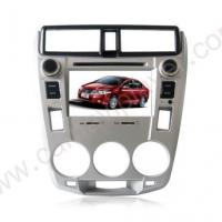 China In-Dash Car Navigation Stereo Honda City Aftermarket Navigation Car Stereo With Frame Panel on sale