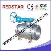 China 3PC Forged Steel High Pressure Trunnion Ball Valve on sale