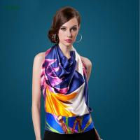 Quality China Manufacturer Supplies Digital Printed Long Silk Scarves With Cheap Price wholesale