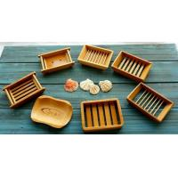 Buy cheap Natural Bamboo Soap Holder Bamboo Soap Dish for Home and Bathroom or Hotel Toilet from wholesalers