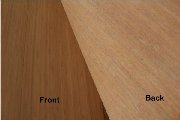 Cheap Carbonzied Thin Bamboo Veneer Sheets for Walls for sale