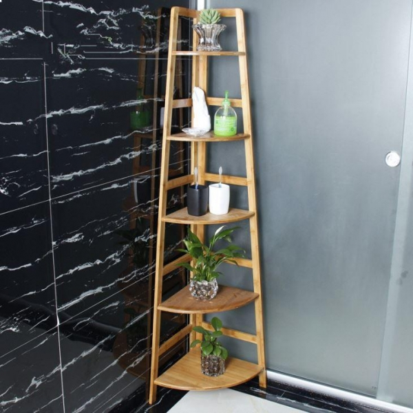 China Bathroom Bamboo Racks, Bathroom Bamboo Holder