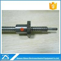 China Ball screw High Speed Low Cost 6mm Plastic Ball Screw Nut Bracket on sale