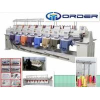 Quality China embroidery machine computerized, cap embroidery machine for 8 Head embroidery machine wholesale