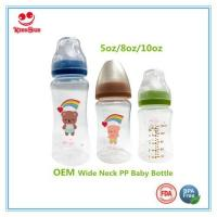China Wide Neck PP Baby Bottles For Feeding Babies on sale