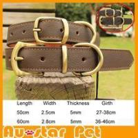 Buy cheap Collars & Leashes Hot Sale Luxury Pet Products Leather Dog Collars from wholesalers
