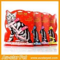 Quality Wholesale in China Factory Price Pet Ouroor Products Cat Harness Leashes Set wholesale