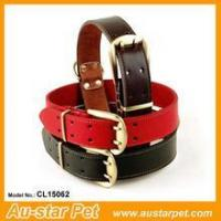 Quality Luxury Design Leather Dog Collars for Big Dogs wholesale