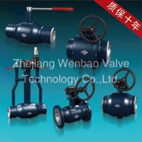 Quality Carbon Steel Fully Welded Ball Valve Pn16 wholesale
