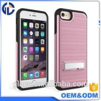 alibaba best sellers mobile phone kickstand case wholesale hard case for iphone 7 6