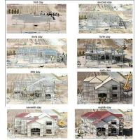 Buy cheap Steel structure villa product