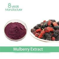 Cheap natural fruit extract of mulberry extract powder(anthocyanin)25% for eye health for sale
