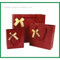 Quality TSP837 Bow Tie Paper Shopping Bag wholesale