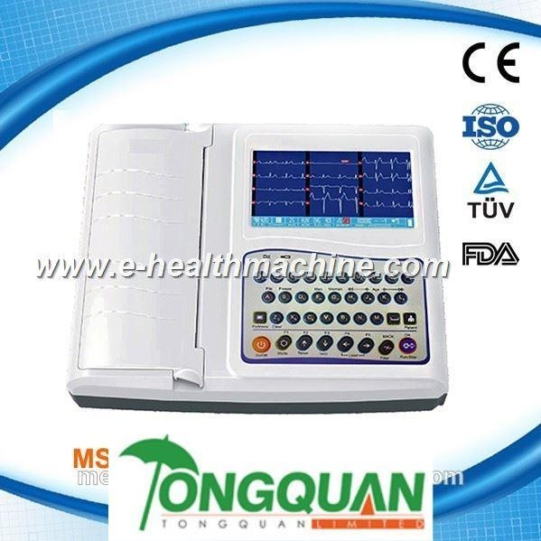 China MSLEC21S—Clinic Examination 12 Channel ECG Machine with High Quality
