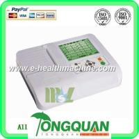 Buy cheap Three channel cheap ECG machine( MSLEC05D) from wholesalers