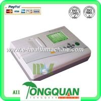 Buy cheap Three channel 12 lead ECG machine-MSLEC04D from wholesalers