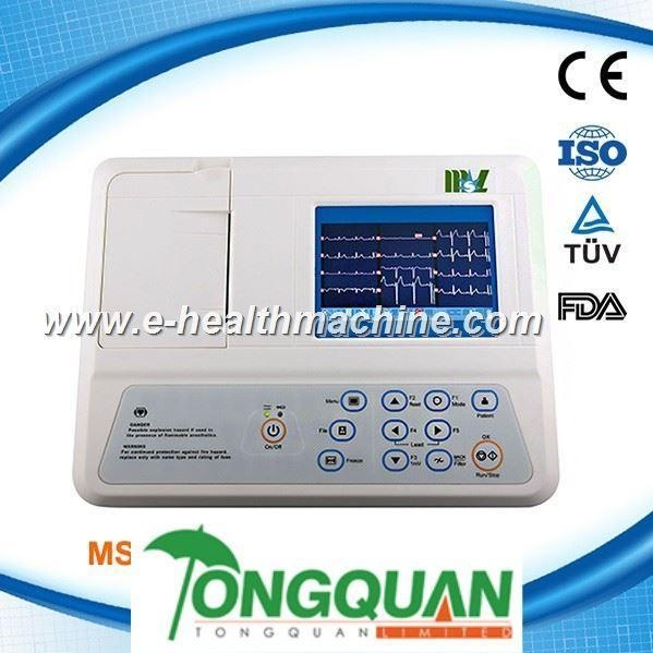 China MSLEC17S top quality portable single channel veterinary ecg
