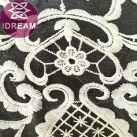 Quality Fashion Design Water Soluble Embroidery Chemical Venise Lace Fabric wholesale