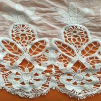 Quality Embroidery Lace Fabric,Guipure Lace wholesale