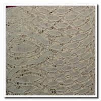 China Embroidery Lace Nylon Spandex Lace Fabric on sale
