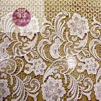 Quality Embroidery Lace Curtain Fabric wholesale