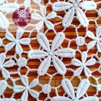 Buy cheap Custom Made Embroid Organza Lace Fabric To South African Market from wholesalers