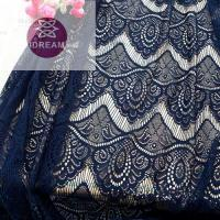 Buy cheap Polyester Jacquard Mesh Lace Fabric from wholesalers