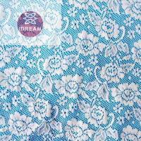 Buy cheap Cord Lace Fabric White 2017 from wholesalers