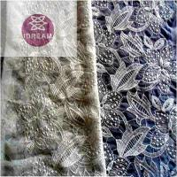 Quality Beaded Lace Fabric By The Yard wholesale