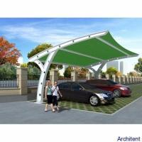 Quality Green Car Parking awning Design Sketch wholesale