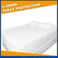 China Waterproof Bed Bug Mattress Cover on sale