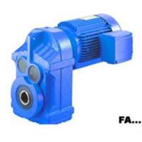 Quality FA parallel shaft helical gear speed reducer wholesale