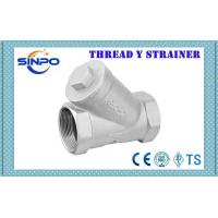 Buy cheap Stainless Steel Kitz NPT BSPT Screw Threaded Y Strainer Filter 200WOG product